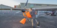 Flugbestattung Flugzeug