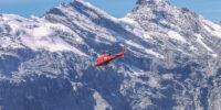 Flugbestattung Helikopter